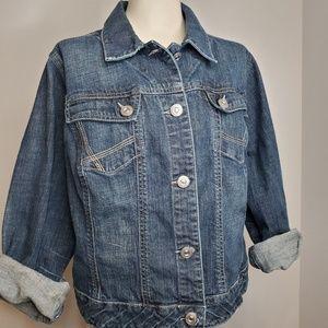 Lane Bryant Denim Jacket Size 18